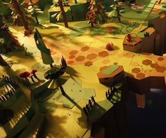 Stunning paper universe crafted for Sony PlayStation game Tearaway