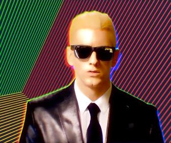 Laundry and Mammal turn Eminem into 80s icon Max Headroom for Rap God music video