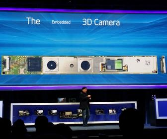 Intel's RealSense 3D camera helps PC apps see, hear & feel