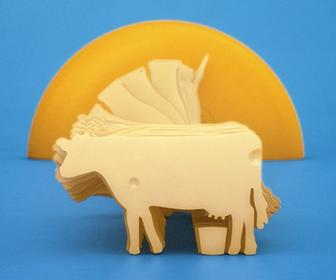 1,500 slices of real cheese used to animate 'The Circle of Cheese'