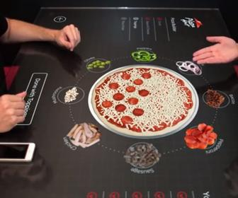 Pizza Hut dreams of interactive tables for elusive dine-in restaurants