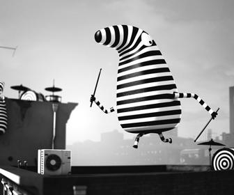 Job, Joris & Marieke animates cute but surprisingly sinister music video