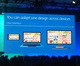 Universal Windows apps let you develop a single app for desktop, mobile and Xbox