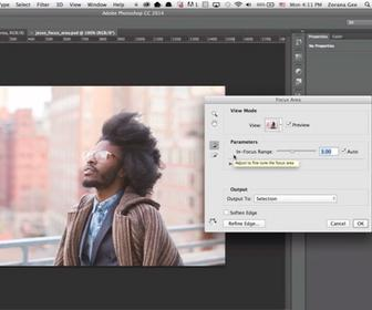 New tools for Photoshop CC: focus-based masking