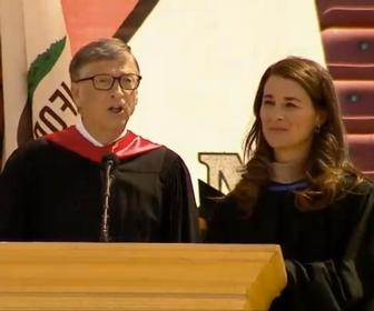 Bill & Melinda Gates Stanford graduates speech: 'don't focus on profit alone, make the world a better place'