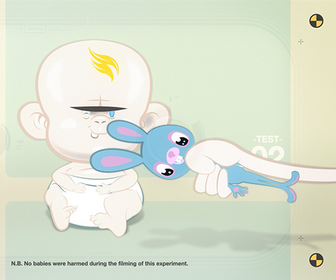 Jun Iwakawa's Handle With Care animated infographic isn't your usual parenting guide
