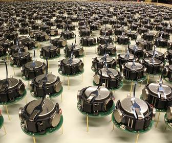 Harvard unleashes a swarm of self-organising robots