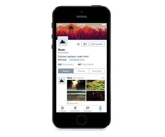 Twitter gives your profile a makeover as part of its iOS 8 upgrade