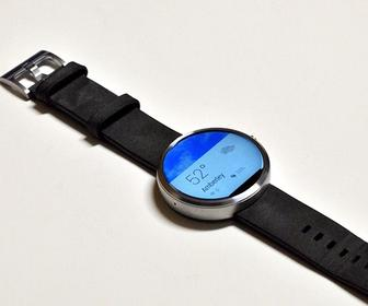 Moto 360 app lets you design your own watch face