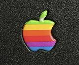 A love letter to the classic Apple logo