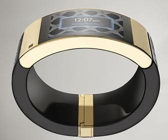 MICA attempts to show that smart cuffs are more fashionable than smartwatches