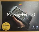 This Apple Newton MessagePad box is the epitome of 80s packaging design