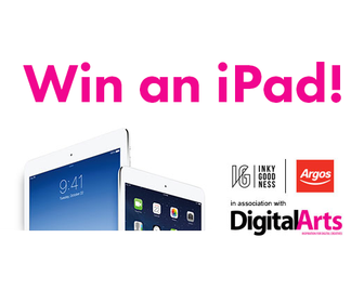 Competition: Win an iPad with Argos and Inkygoodness