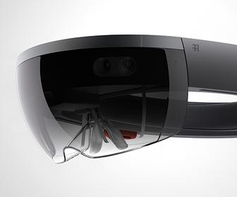 Microsoft's 'holographic' Windows tech combines stereo-3D glasses & augmented reality