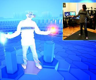 How to play Tron's disc battles in VR using Oculus Rift and Kinect