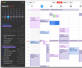 Fantastical 2 is the best-designed desktop OS X calendar app around