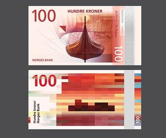 How those beautiful new Norweigan bank notes were designed