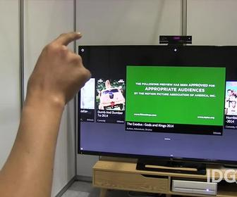 CHI 2015: Control your home by waving your arms at your TV