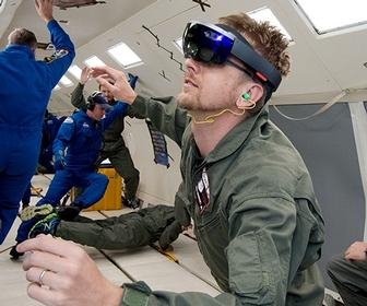 NASA is sending Microsoft's HoloLens to the ISS to help train astronauts