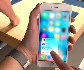 What Apple's 3D Touch could mean for accessibility