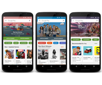 Catch a sneak peek of the new Google Play Store redesign