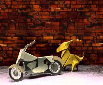 These stop-motion videos show incredible origami techniques