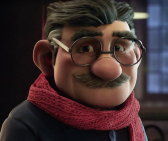 This is the animated Christmas ad everyone's tallking about