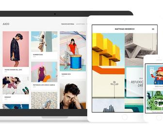 Adobe Portfolio offers simple website design tools to show off your work