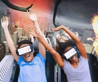 Six Flags teams up with Samsung for virtual reality roller coasters
