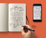 Instantly digitise your drawings with Moleskine's new paper tablet