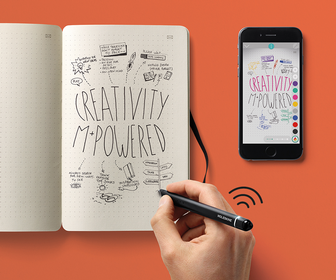 Instantly digitise your drawings with Moleskines new paper tablet