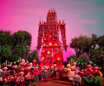Radiohead's new music video: Burn The Witch is The Wicker Man set in Trumpton