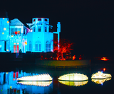 How this festival transforms a white town into a colourful, dreamlike world