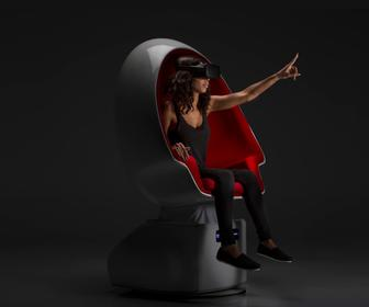 Positrons Voyager is a full-motion chair for VR cinema