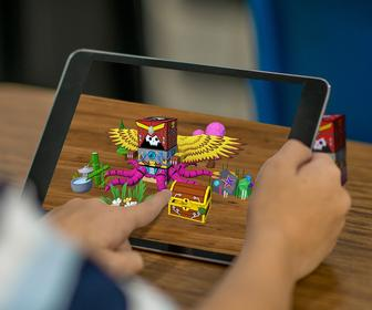 Meet SwapBots, an augmented-reality toy that pairs with the iPad