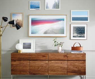 Samsungs new TV looks like a framed artwork