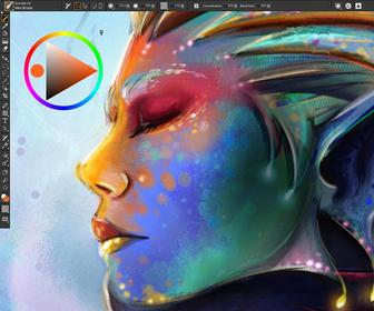 Corel Painter 2019 offers faster, more responsive digital painting – and adds a dark 'pro' UI