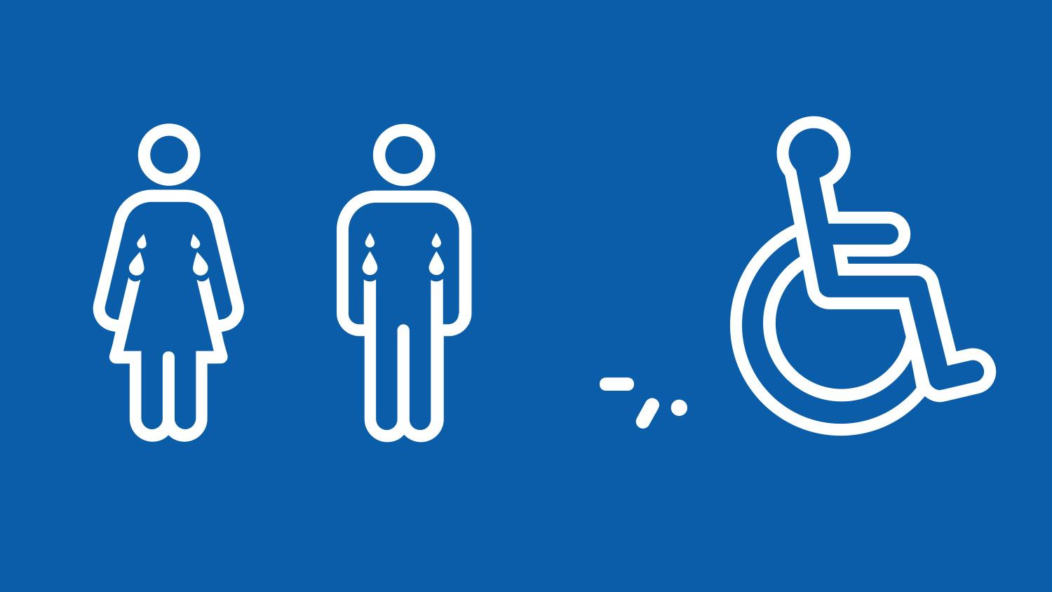 These designers have reimagined the 'wheelchair symbol' to ... Handicap Logo Redesign