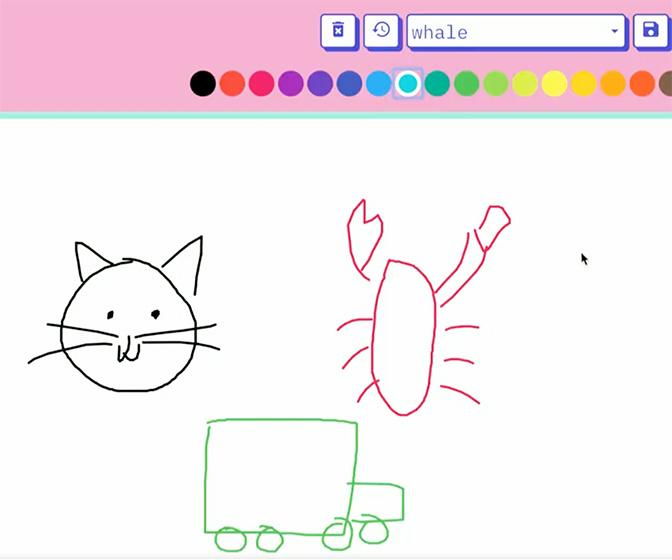 This absurd website magically completes your doodles using AI