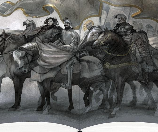 New Folio Society editions of the Game of Thrones books feature fantastic illustrations