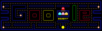 Google Pac-Man game