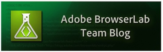 Adobe BrowserLab Team Blog