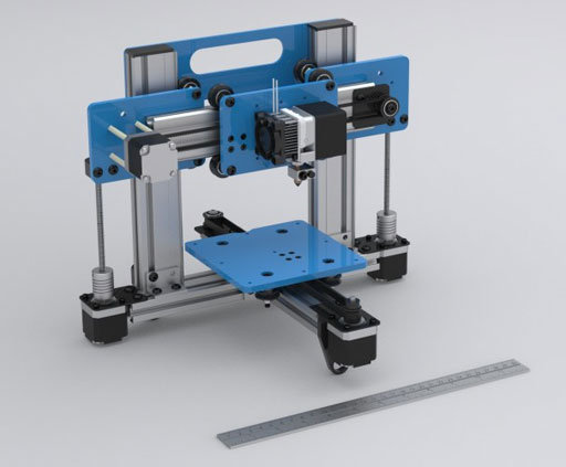 Cheap 3d Printer Pops Out Designs At Super High Speed