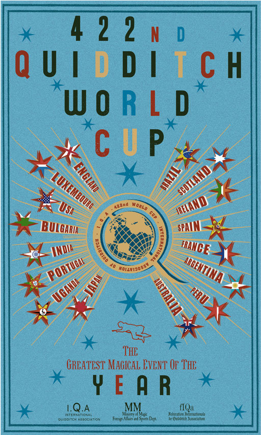 Quidditch World Cup Poster