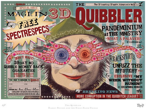 photo relating to Quibbler Printable known as Luna Lovegood Quibbler Print Out