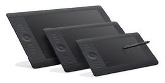 Wacom Intuos5 graphics tablets with multi-touch input