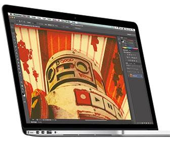 Apple MacBook Pro with Retina Display tested with Photoshop, After Effects and 3D suites