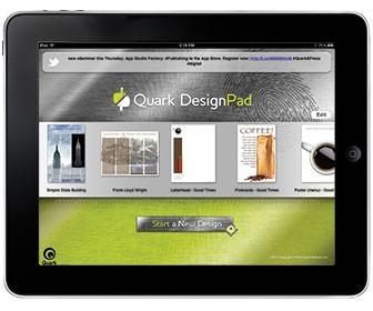 Quark DesignPad preview