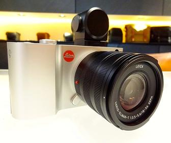 Leica T camera hands-on review