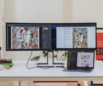 Philips 499P9H monitor review – this 49-inch screen turns heads and will make your colleagues jealous